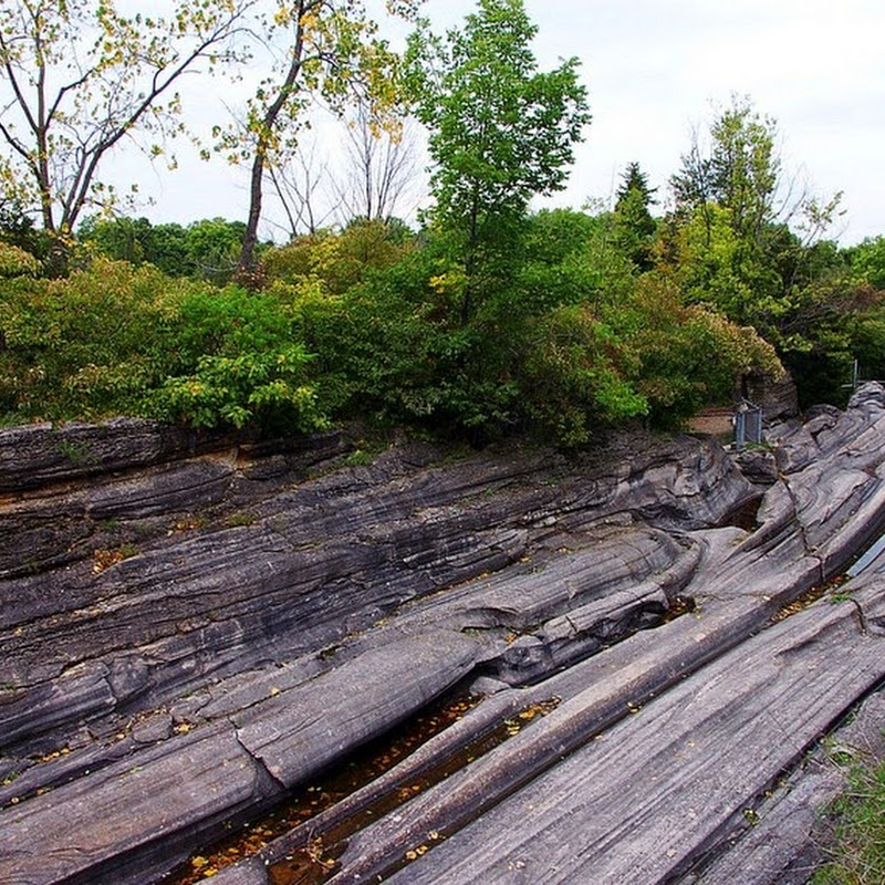 Glacial Grooves on Kelley's Island