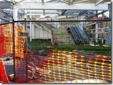 Il cantiere morto alla stazione di Piscinola