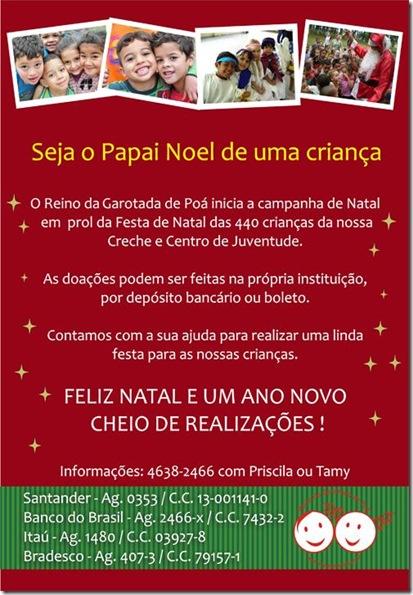 Reino da Garotada de Poá - Natal 2012