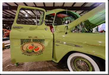 Gary and Flo Garman's 1955 Chevy Pickup Sweet-N-Juicy