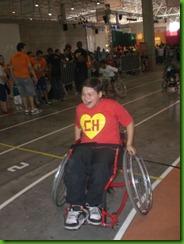 Corrida de cadeiras de rodas