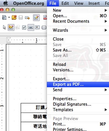13 Export PDF