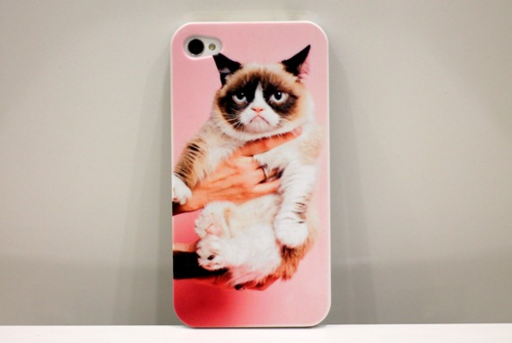 GRUMPY CAT PHONE CASE IPHONE TARD