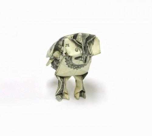 Origami de dinheiro 05