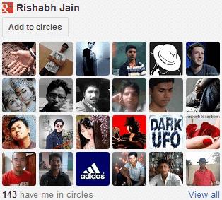 Google+-Followers