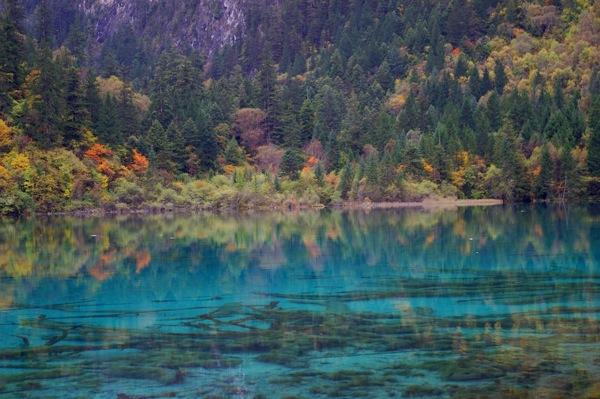 Blue cyan lake3927