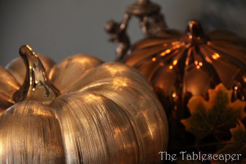 Fall Metallic Dining room 033