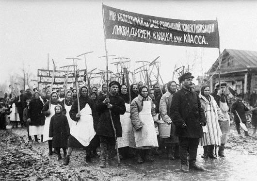 Митинг-в-колхозе-1931