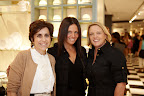 Myself, Joanna Kartalis of Bloomingdales, and Amy Wilkins our Publisher.