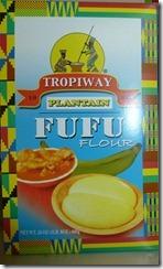 Fufu-Plantain