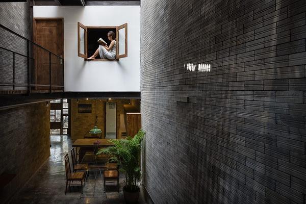 Nhà phố đẹp theo phong cách thiền Zen House