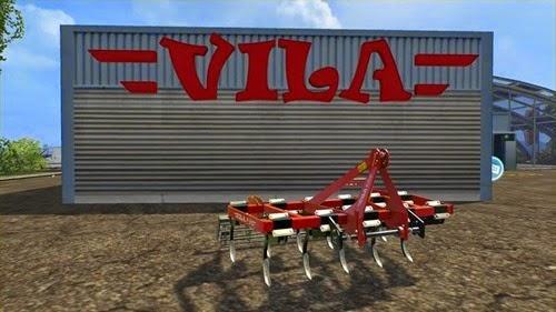 Farming simulator 2015 - Vila Chisel SXH 2 11 v 1.0 clean