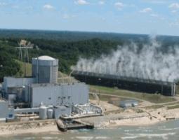 Planta nuclear de Palisades Michigan