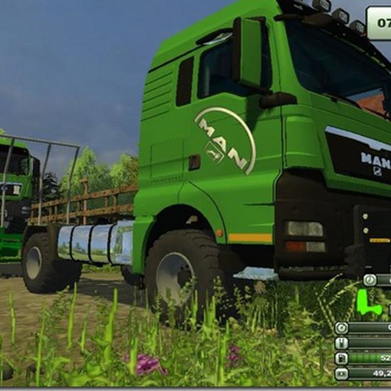 Farming simulator 2013 - MAN TGS 18 480 agricultural v 1.0