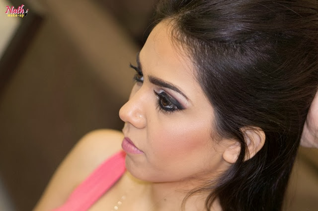 maquiagem cílios postiços