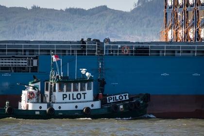The pilot transfer begins