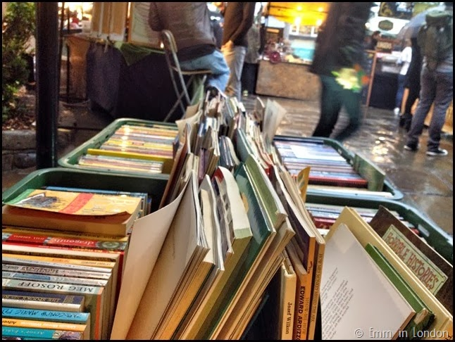 Book sale Camden Market