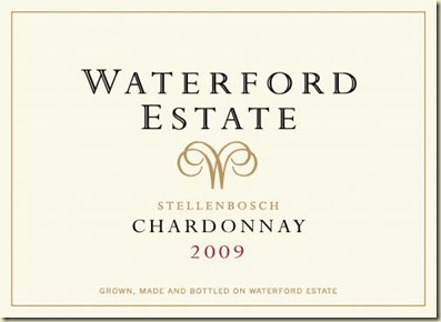 Waterford Chardonnay etiket