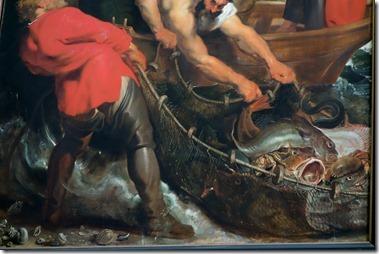 P・ルーベンス作「奇跡の漁り」