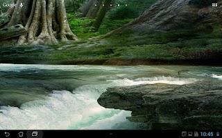 Screenshot of Real River Flow Live Wallpaper