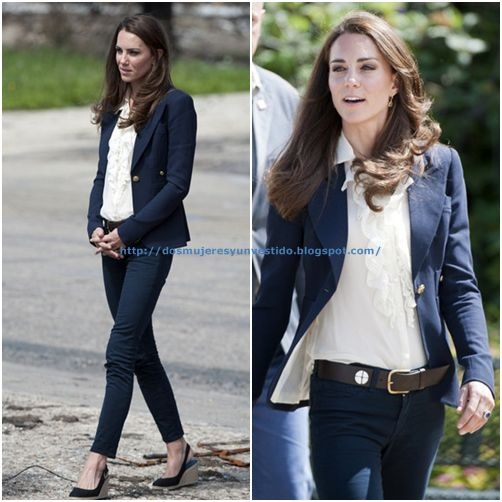 Kate Middleton Visit a Town Ravaged by Fire (1)