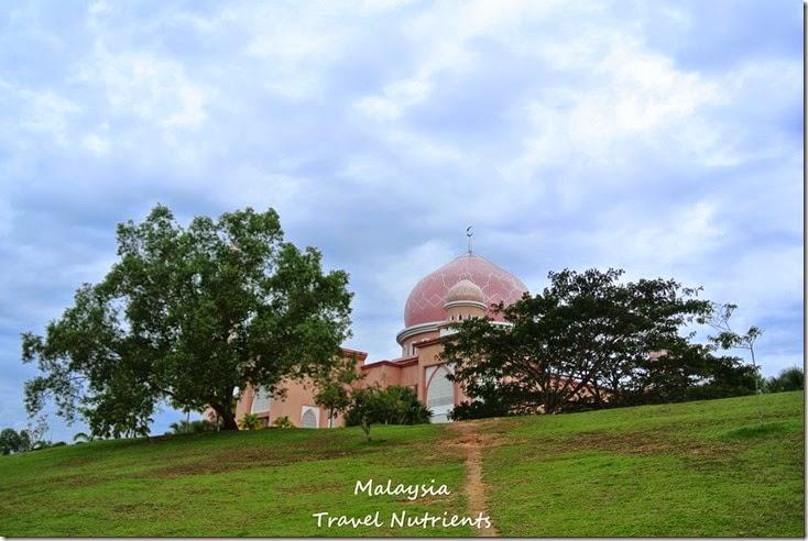 馬來西亞沙巴大學 粉紅清真寺 (8)