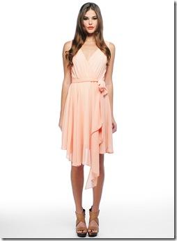 harmony dress pink