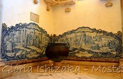 Glória Ishizaka - Mosteiro de Alcobaça - 2012 - Sala dos Reis - azulejo 3 e 4 a