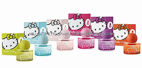 HELLO KITTY PERFUME LIMITED EDITION WOMEN  FRAGRANCE COLORED POP SPRAYS IN SINGAPORE SEPHORA ION  ALT BUGIS WIN GIVEAWAY