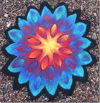 Blütenmandala von Gunda