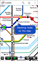 Screenshot of Tube Map London Underground