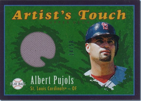 2004 Play Ball Pujols Jersey 14 of 50