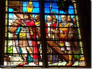 Vidriera - Catedral de Toulouse