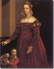 1500s (mid-late)_ Double Portrait of a Lady & Her Dog_ Sofon