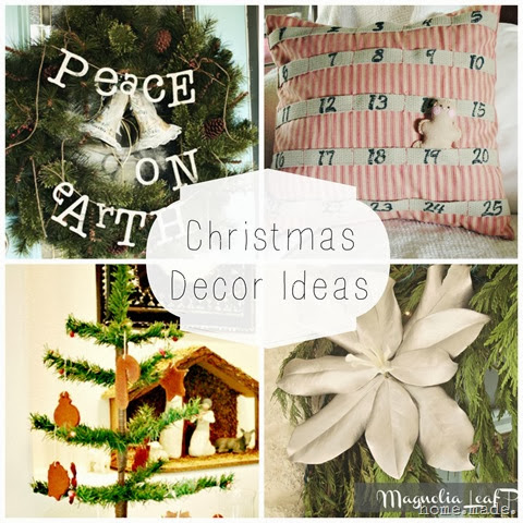 christmas decor collage
