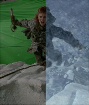 Videos de cómo se realizan las películas con los efectos visuales VFX