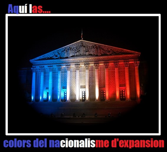 Colors del nacionalisme d'expansion République Française