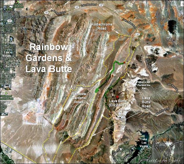 MAP-Lava Butte & Rainbow Gardens-2
