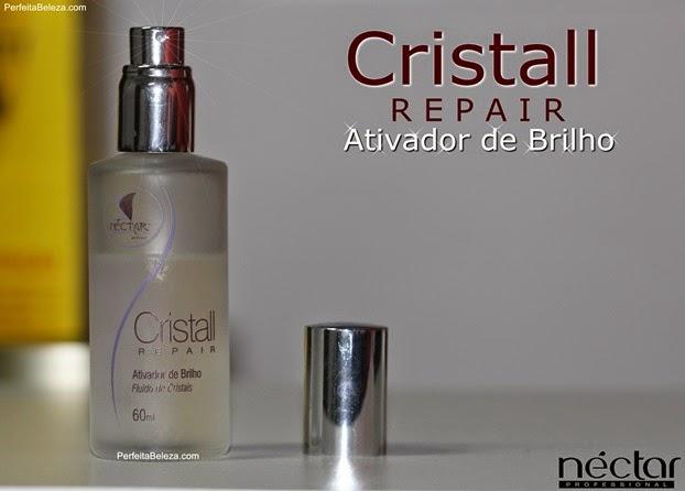 ativador de brilho néctar, cristall repair
