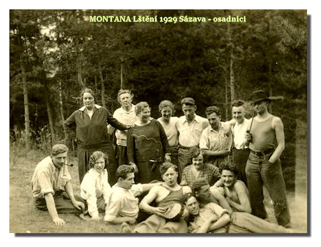 MONTANA Lštění 1929 Sázava - Osadníci1.jpg