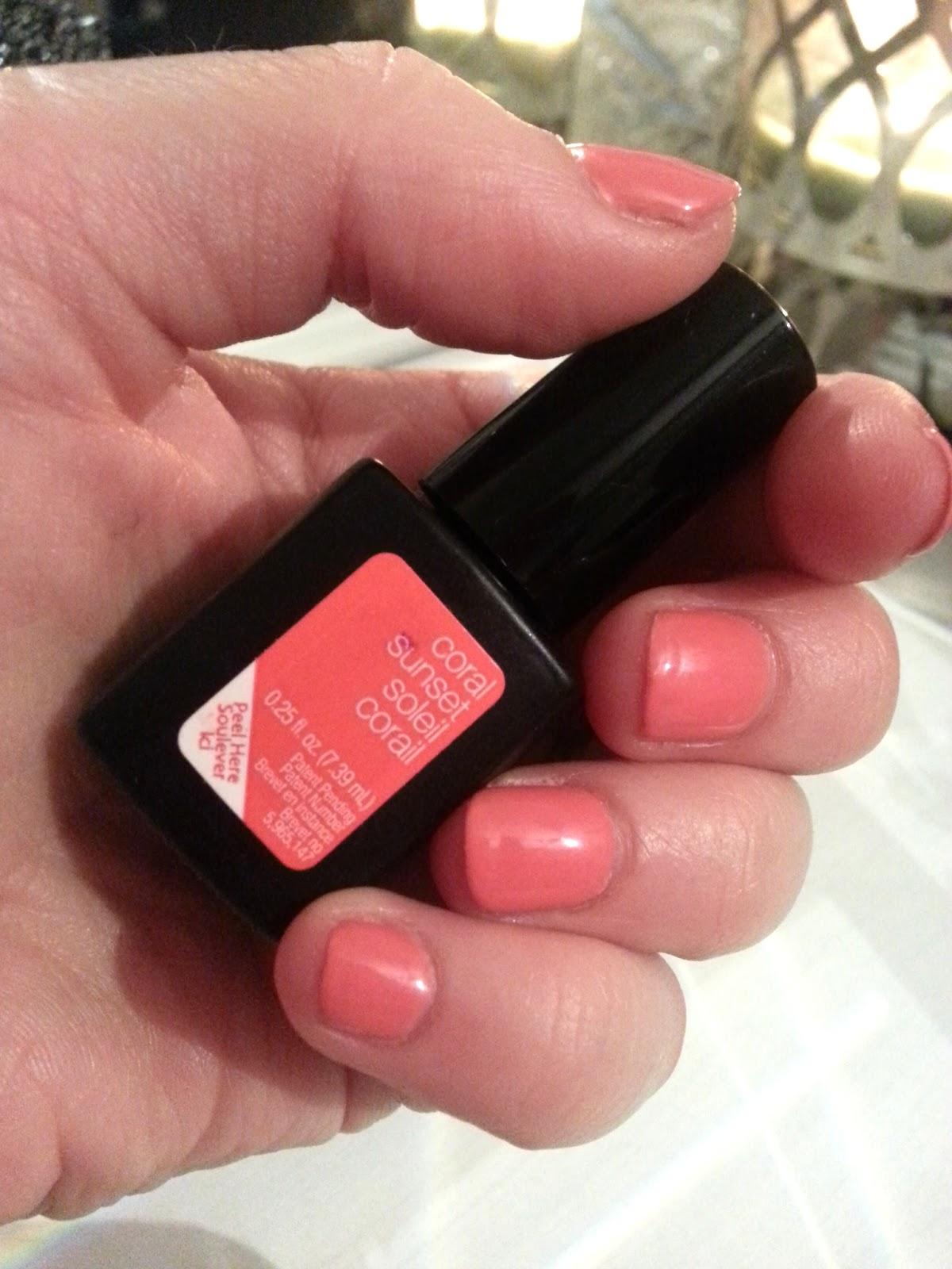 Heather Allen Makeup: Nail Envy-Sensationail Gel Polish