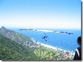 Hang gliding over Barra, Brasil
