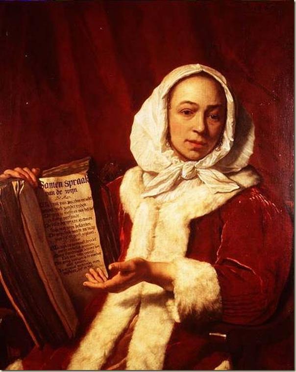 Bartolomeo van Der Helst,Femme célébrant le vin