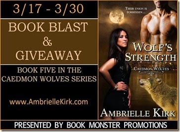 TOUR BUTTON - Wolf's Strength Book Blast