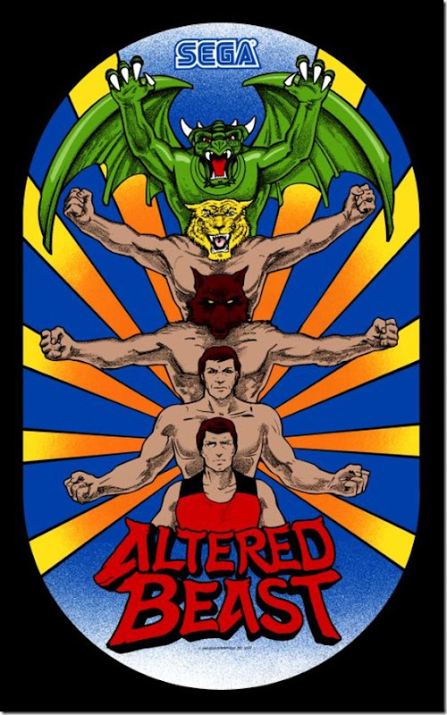Altered Beast sideart