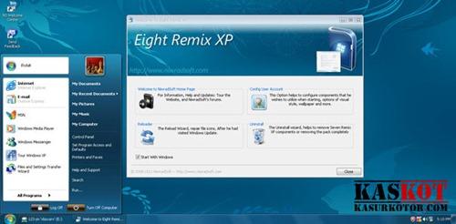 Mengubah Tampilan Windows Xp Menjadi Mirip Windows 8