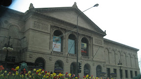 The Art Institute of Chicago building. Swami Vivekanand gave a lecture on Hinduism here in 1893.