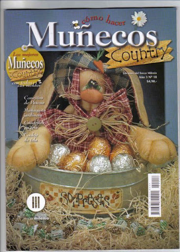 18 - Munecos Country - Pascoa - Ano 3