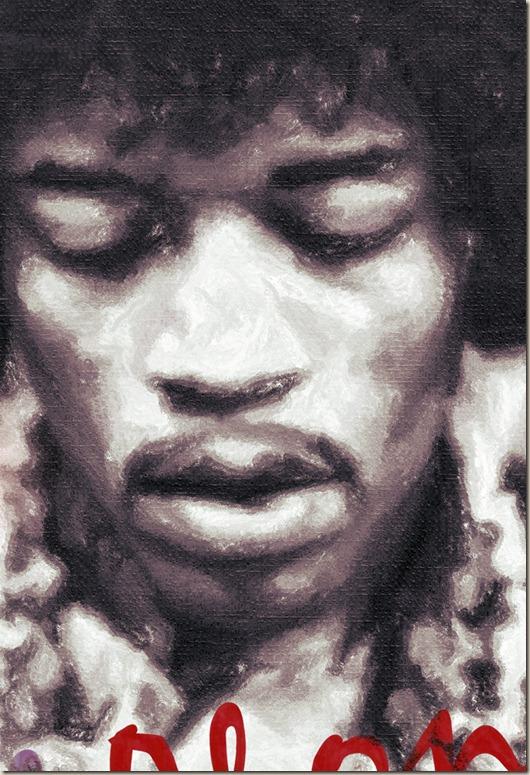 Jimi Hendrix posterr