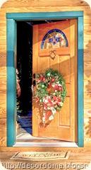 Необычные идеи декора дверей своими руками 3